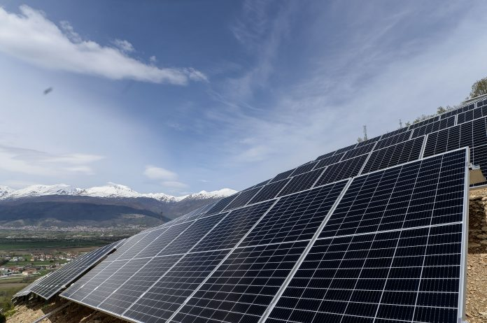 фотоволтаична централа Теново фото: Влада