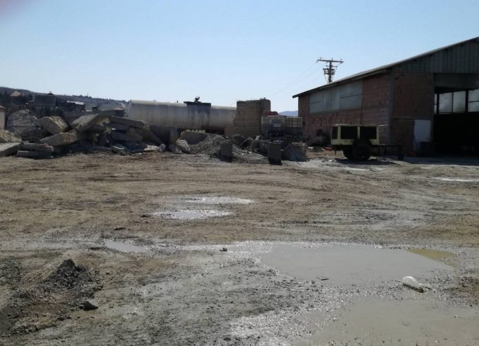 бетонска база фото: ДИЖС