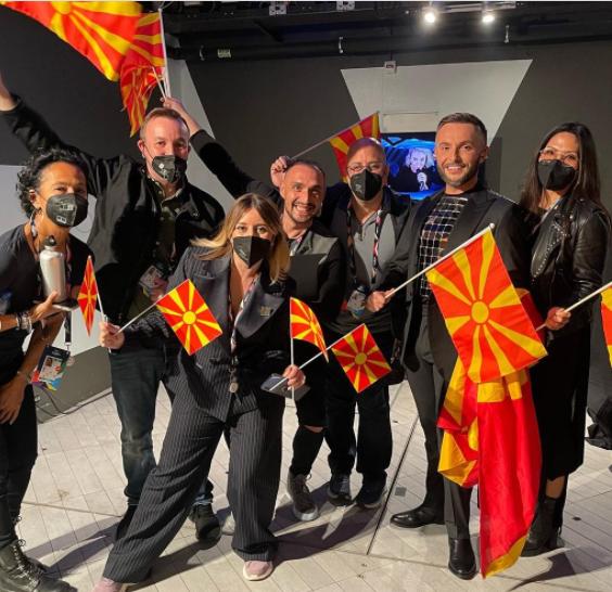 Македонска делегација Евровизија 2021