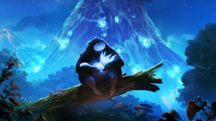 Screenshot from the game Ori and the Blind Forest